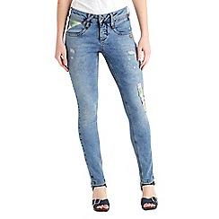 Joe Browns - Light blue sassy sequin detail jeans
