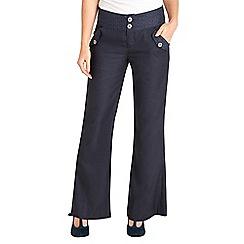 Joe Browns - Navy perfect pinstripe trousers
