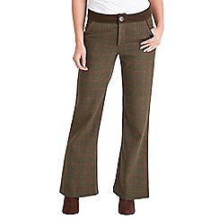 Joe Browns - Green check heritage trousers