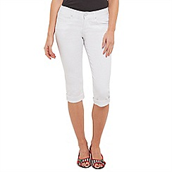 Joe Browns - White capri pants