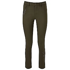 Joe Browns - Khaki embroidered jeans