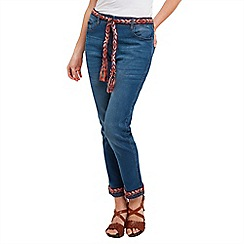 Joe Browns - Mid blue funky festival jeans