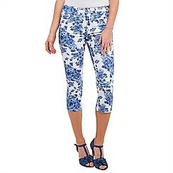 Joe Browns - Multi coloured fresh floral capri pants