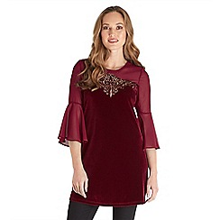 Joe Browns - Red little bit different tunic top