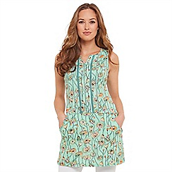 Joe Browns - Light green you know it's spring tunic