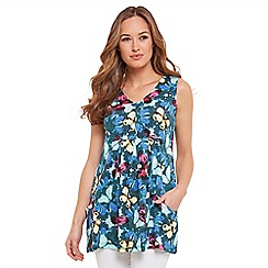 Joe Browns - Multi coloured crazy butterfly tunic