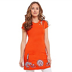 Joe Browns - Orange border print tunic
