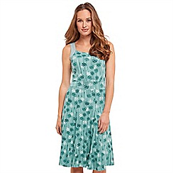 Joe Browns - Green jersey 'Caroline's Favourite' knee length summer dress
