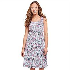Joe Browns - Multi coloured floral print 'Better Than Ever' knee length  summer dress