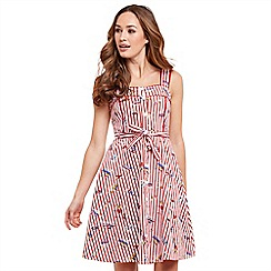 Joe Browns - Multi coloured 'On The Deck' knee length summer dress