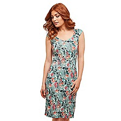 Joe Browns - Multi coloured floral jersey 'Beautiful Blossom' knee length bodycon dress