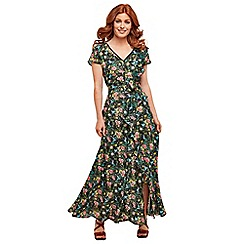Joe Browns - Multi coloured floral 'Katie's Favourite' full length maxi dress
