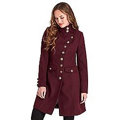 Joe Browns - Dark red keep it simple coat