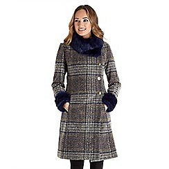 Joe Browns - Multi coloured sophisticated check coat