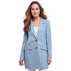 Joe Browns - Pale blue longline spring jacket