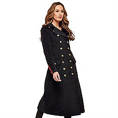 Joe Browns - Black libertine coat