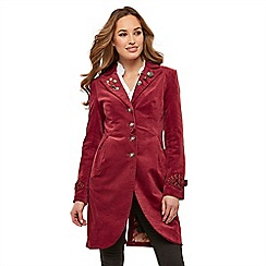 Joe Browns - Red 'Joe's' new favourite coat