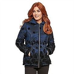 Joe Browns - Dark blue perfect padded jacket