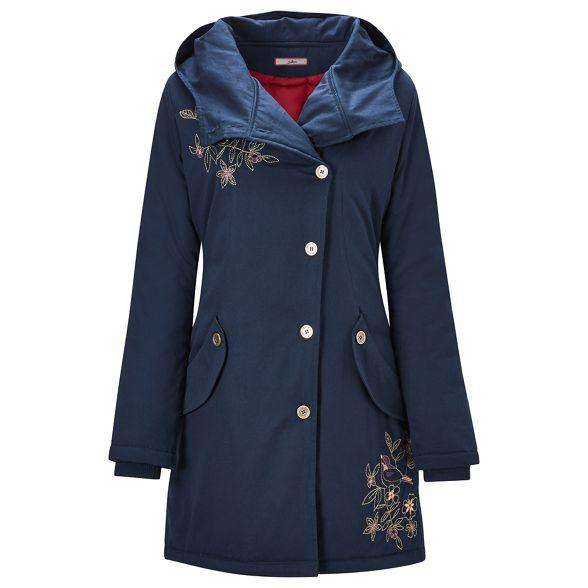 coat padded dark Joe Browns blue Dark horse qwH74Y