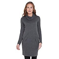 Joe Browns - Dark grey simple cowl neck knit