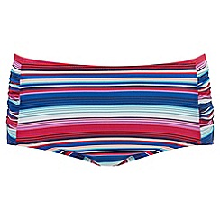 Joe Browns - Multi coloured mix and match mid leg tankini bottoms