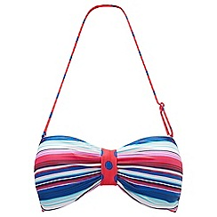 Joe Browns - Multi coloured mix and match bikini top