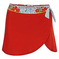 Joe Browns - Red 'Mix and Match' Swim Skirt