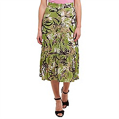 Joe Browns - Green feeling free skirt