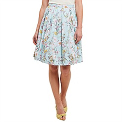 Joe Browns - Pale green summer sunshine skirt