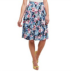 Joe Browns - Multi coloured summer days vintage skirt