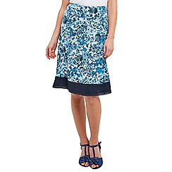 Joe Browns - Dark turquoise flattering jersey skirt