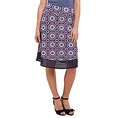 Joe Browns - Plum flattering jersey skirt