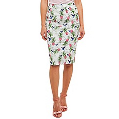 Joe Browns - Multi coloured pass the pineapple skirt