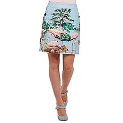 Joe Browns - Multi coloured feisty flamingo skirt