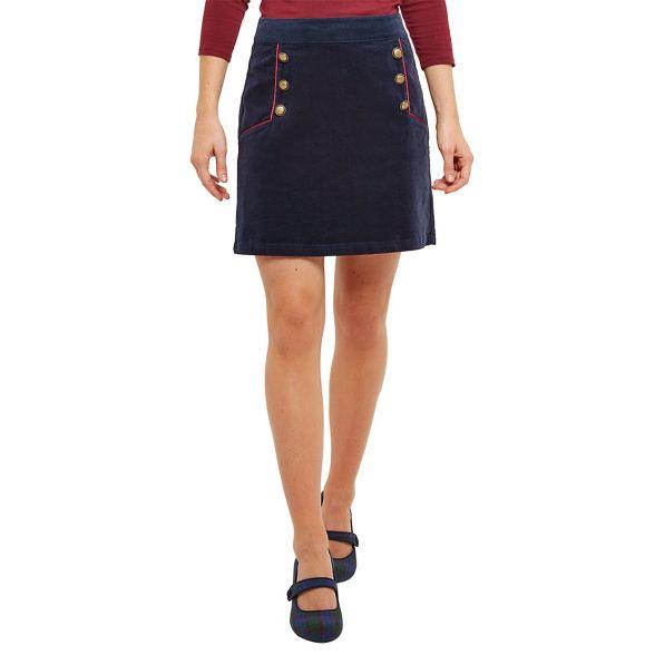 charismatic Navy Browns mini skirt Joe cord 67vwaq