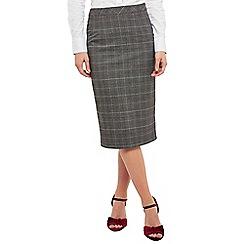Joe Browns - Dark grey sassy pleats skirt