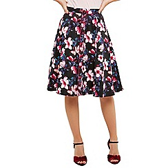 Joe Browns - Multicoloured bountiful blooms skirt