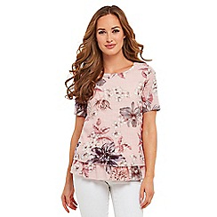 Joe Browns - Pink a bit of you floral top