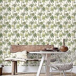 Superfresco - Palm Print Design Wallpaper