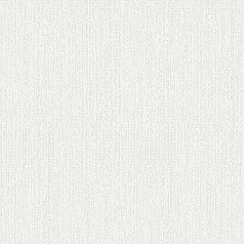 Superfresco Paintables - White Corrina Plain Textured Paintable Wallpaper