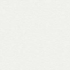 Superfresco Paintables - White Grass cloth Paintable Wallpaper