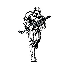 Star Wars - White Star Wars Storm Trooper Lifesize Sticker