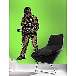 Star Wars - Brown Star Wars Chewbacca Lifesize Sticker