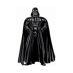 Star Wars - Black Star Wars Darth Vader Lifesize Sticker