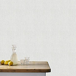 Superfresco - Matrix Soft Grey Textured Plain Wallpaper