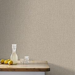 Boutique - Bronze Chenille Wallpaper
