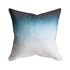 Graham & Brown - Blue Ink Ombre Cushion