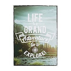 Graham & Brown - Life Is An Adventure Printed Wall Art