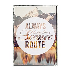 Graham & Brown - Scenic Route Printed Wall Art