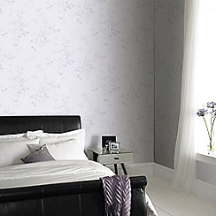 Superfresco Easy - Lilac Beautiful Butterfly Paste The Wall Wallpaper